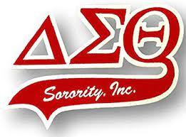 Greek letters for Delta Sigma Theta Sorority, Inc.