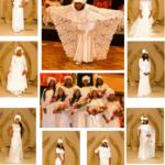 KWANZISHAS posing in white gowns