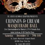 Crimson and Cream Masquerade Ball 2019