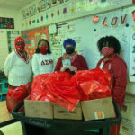 SLA Delivered Books to Classroom