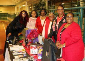 SLA President DeJeanette Williams with International Awareness & Involvement