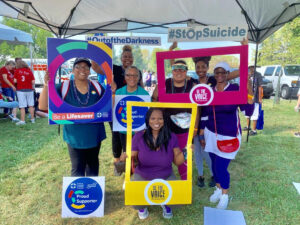 SLA with American Foundation for Suicide Prevention Out of the Darkness Community Walks2019