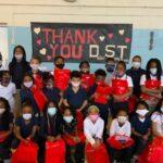 Students at Barbara C Jordan Elementary School