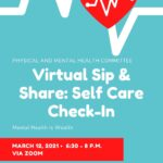 Virtual Sip and Share Flyer